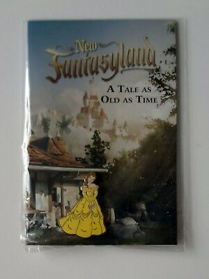 WDW Cast Member/VIP New Fantasyland Grand Opening Belle pin on card Pin # 95477