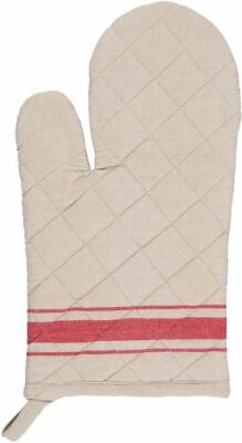 Ofenhandschuh 16x30 cm Country Essential rot