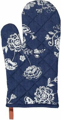 Ofenhandschuh 16x30 cm Denim Days blau
