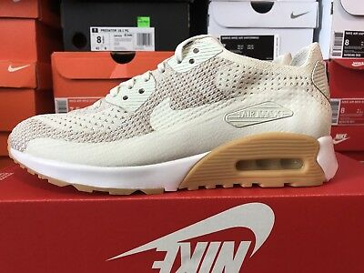 new style e23ba f75f3 Nike Air Max 90 Ultra 2.0 Flyknit Womens Running Shoes Sz 8 NEW 881109 106