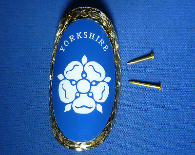 Classic Canes Yorkshire Rose Walking Stick Badge