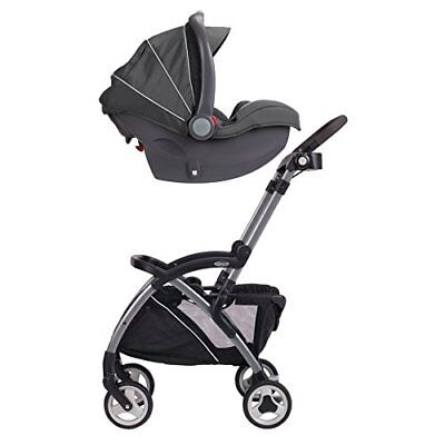 Graco Snugrider Elite Stroller & Car Seat Carrier Lightweight Black Fast Shippin