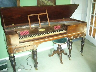 1817- 19 Rosewood Square Piano By Thomas Tomkison Of Dean Street, Soho London