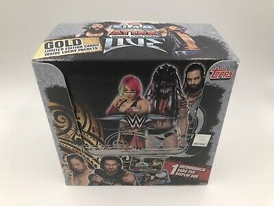 WWE Slam Attax Live Trading Cards 9, 18, 36 Packets FULL BOX