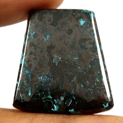 49.30 cts Natural Designer Iron Azurite Untreated Gemstone Fancy Loose Cabochon