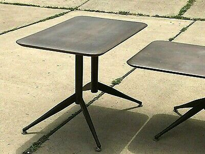 """Mid Century Modern 3 Piece Set """"viko Baumritter"""" Coffee Table & 2 End Tables"""