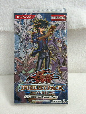 Yu-Gi-Oh! OVP Booster – Duelist Pack Collection Yusei – 1. Auflage - Deutsche Au