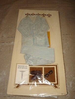 New 1963 Remco Dr John Littlechap 2 Piece Pajama Pant Top Doll Outfit #1414 Vtg