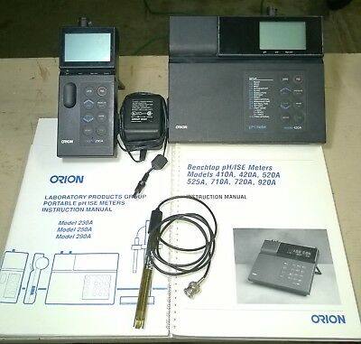 orion research 210 series model 210 portableph meter with case rh picclick com