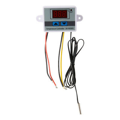 Temperature Controller with Probe Digital Motors Drives LED Thermostat Switch