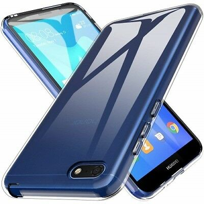 New Ultra Thin Clear Shockproof Transparent Gel Case Cover For Huawei Honor 7S