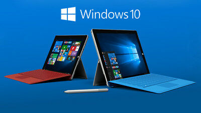 16GB Bootable USB - Windows 10 Pro Recovery Drive Restore Microsoft Surface Pro