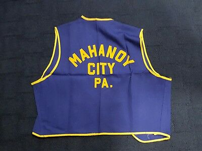 Mahanoy City Pa Rotary Club Vest