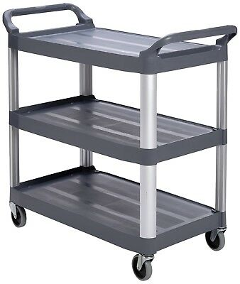 Rubbermaid Commercial X-tra Open Cart - Grey