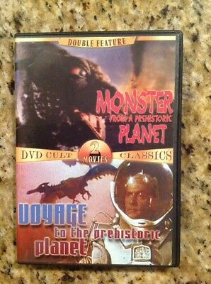 Monster from a Prehistoric Planet/Voyage to the Prehistoric Planet(DVD)Authentic