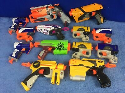 Nerf Dart Gun Blasters Mixed Party Pack Birthday Lot of 13