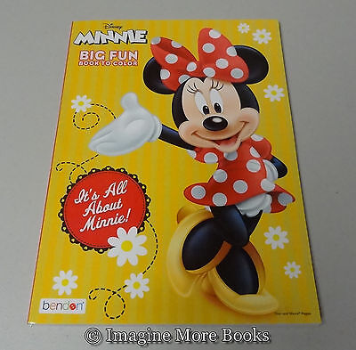 NEW Disney Minnie Mouse Coloring Book Its All About 96 Pages