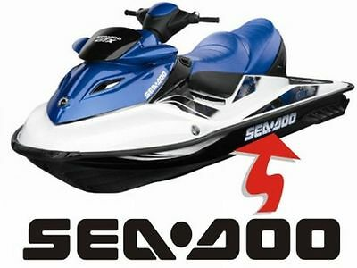 Seadoo Hull Side Decal Sticker Set GSX XP GTX RXP RXX LRV RXT Limited Trailer GS