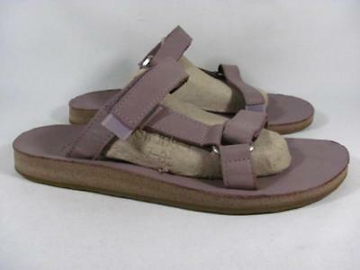 073f7ca64bf TEVA UNIVERSAL SLIDE Sandal Women size 10 Soft Purple Leather ...