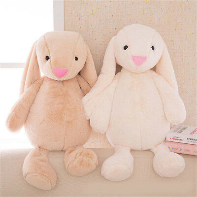Cute Plush Soft Long Ears Bunny Rabbit Animals Doll Toy Baby Kids Gift