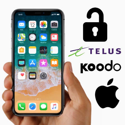 Telus Koodo iPhone Unlock Service ANY MODELS CLEAN (UNLOCKED THE SAME DAY)