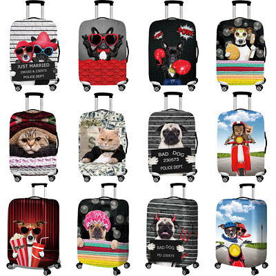 "18""-32"" Printed Cartoon Suitcase Dust-proof Cover Cute Luggage Protective Cover"
