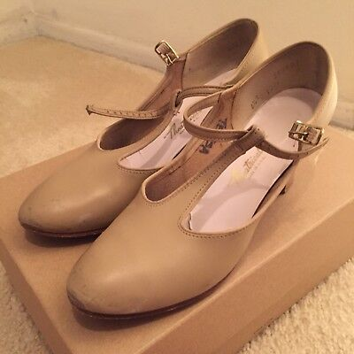 Beige Nude Tan Theatricals Character Shoes 6 1/2