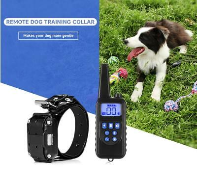 3 Channels 880 800m Waterproof Rechargeable Dog Training Collar Remote Control
