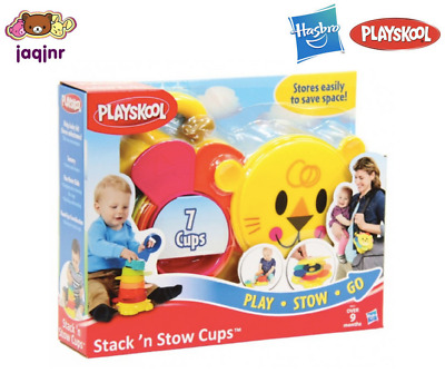 STACK 'N STOW CUPS - Playskool Baby Toddler Toy - 9+ months *New*