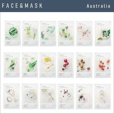 INNISFREE My Real Squeeze face sheet Masks 20 ml x 5 sheets