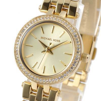 8f94a8a8ab98 New Michael Kors MK3295 Ladies Watch Darci Gold tone White Stainless MK3295