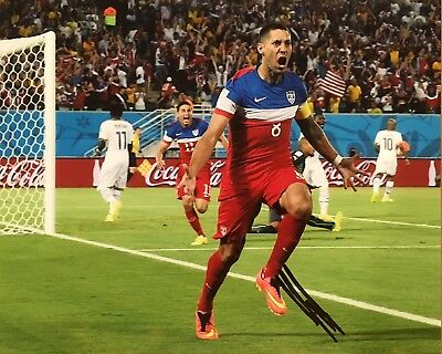 3f4d5c21c PROOF! CLINT DEMPSEY Signed Autographed 8x10 Photo USA Soccer ...