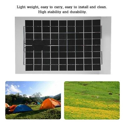 DC 12V 10W Polycrystalline Solar Panel Power Supply Battery Charger For Boat Car