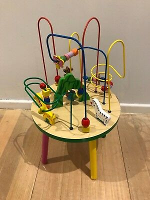 Baby activity table toy