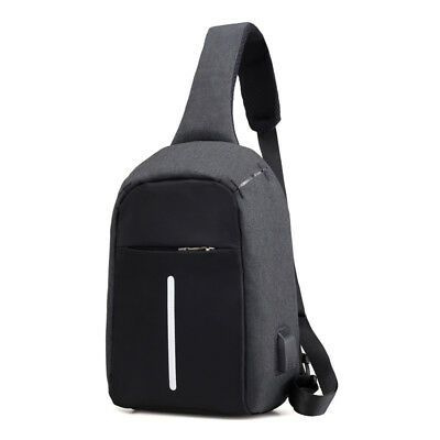 Anti Theft Sling Bag Shoulder Chest Cross Body Backpack Lightweight Casual B1I4