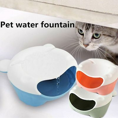 Pet Cat Dog Automatic Bottle Bowl Water Drinking Dispenser Feeder Fountain 1L