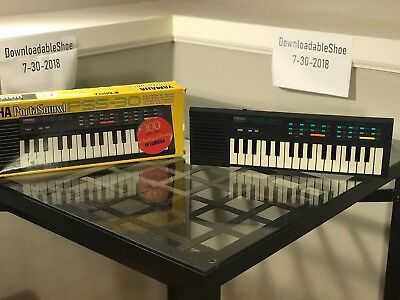 1980's Yamaha Portasound PSS-30 Electronic Piano Keyboard Yellow TESTED WORKING