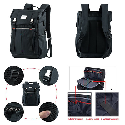 """Business Laptop Backpack P.KU.VDSL Picano Series Anti Theft Computer Fits 14"""" Tr"""