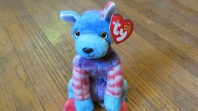 7a999d6571d HODGE PODGE THE Dog Beanie Baby Multi Color Vintage Ty Plush Beanie ...