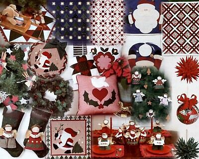 Deck the Halls Xmas Craft Book Quilting, sewing, patchwork etc.
