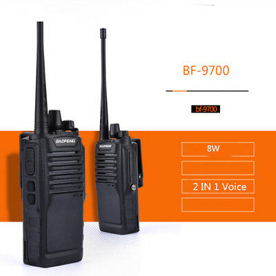 BaoFeng BF-9700  UHF Walkie Talkie Two Way Ham Radio IP67 Waterproof