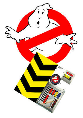 Replacement sticker/label/decal sheet Kenner Ghostbusters 1988 Ghost Spooker
