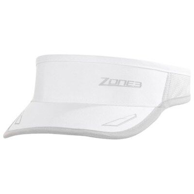 Zone3 Coolmax Race Visor - white - brand new with tags