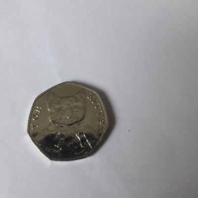Tom Kitten Rare 50p Coin 2017 - Beatrix Potter  Coin