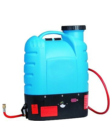 Professional Window Cleaning Backpack for Water Fed Poles - with Flow Controller