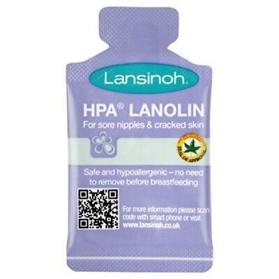 Lansinoh HPA lanolin nipple cream 25 x1. 5mls new