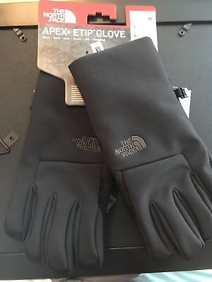 Nwt The North Face Apex Etip Black men's  Gloves  M