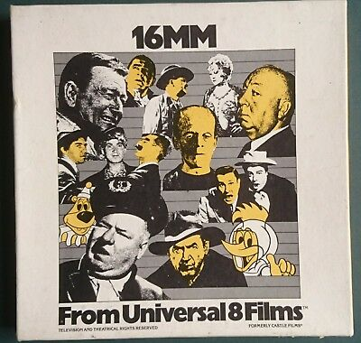 "Universal 8 Films 16mm cartoon film. ""Unbearable salesman"""