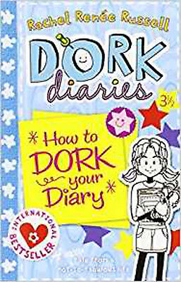 Dork Diaries 3 ½ : How to Dork Your Diary, New, Russell, Rachel Renee Book