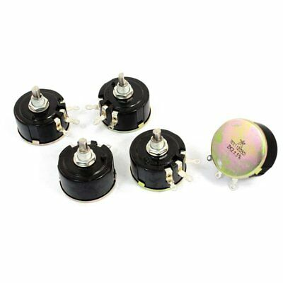 5W 2.2K Ohm Variable Resistor Wire Wound Potentiometer WX112(050) 5 Piece, S8O2
